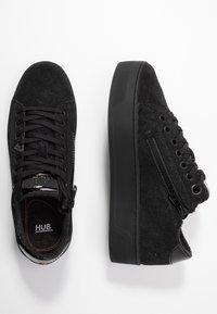 HUB - HOOK-W XL - Sneakers basse - black - 3