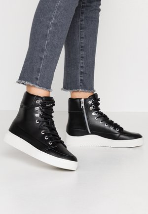 CHESS - High-top trainers - black/dust