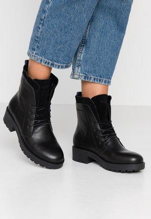 NOVA - Lace-up ankle boots - black
