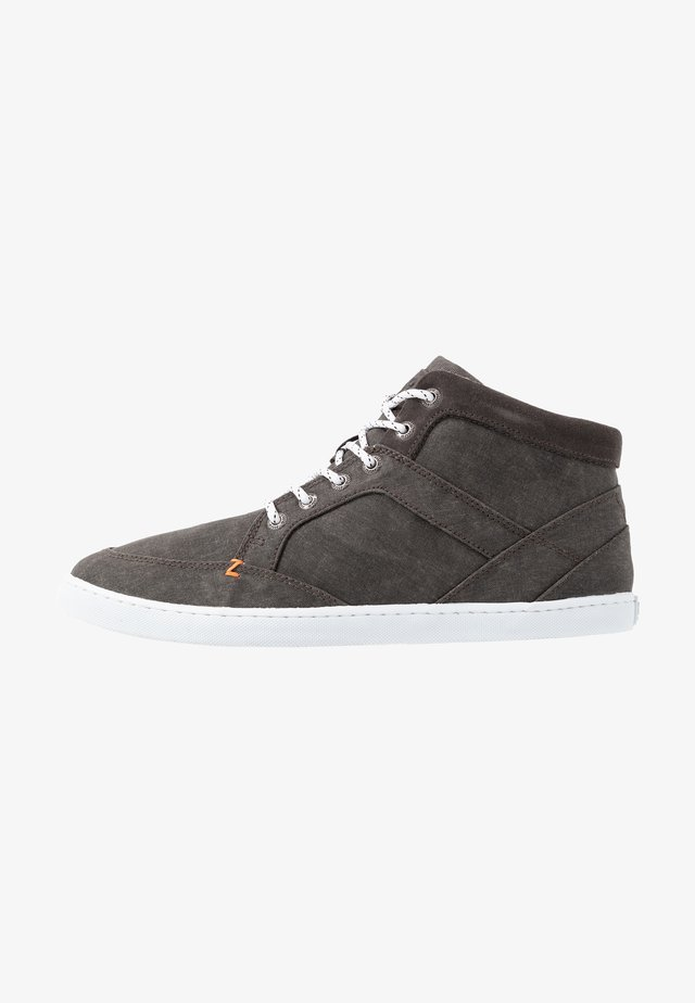 PANAMA - High-top trainers - black/white