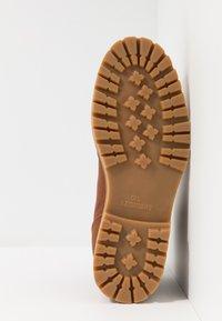 HUB - BELFAST - Lace-up ankle boots - cognac - 4