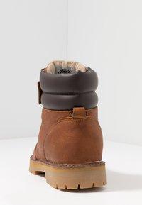 HUB - BELFAST - Lace-up ankle boots - cognac - 3