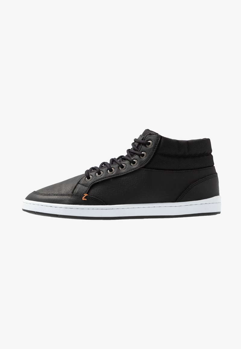 HUB - INDUSTRY - Sneakers high - black/white