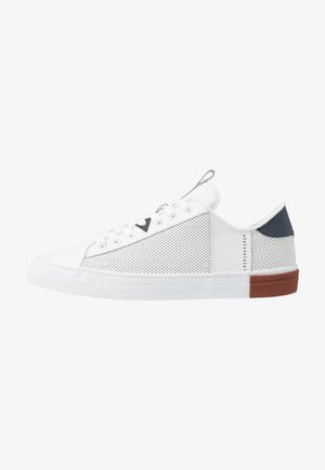 HOOK - Trainers - white/blue/gravel