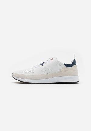 ZONE - Sneaker low - white/blue/black