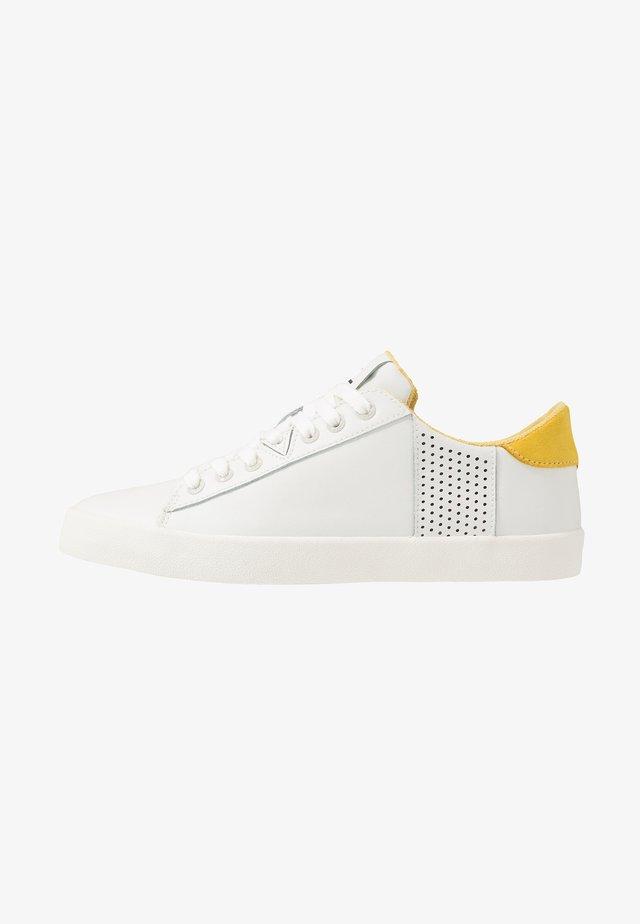 HOOK - Sneakers laag - offwhite/dark ochre