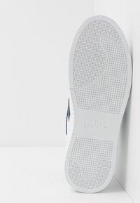 HUB - HOOK  - Trainers - white/blue - 4