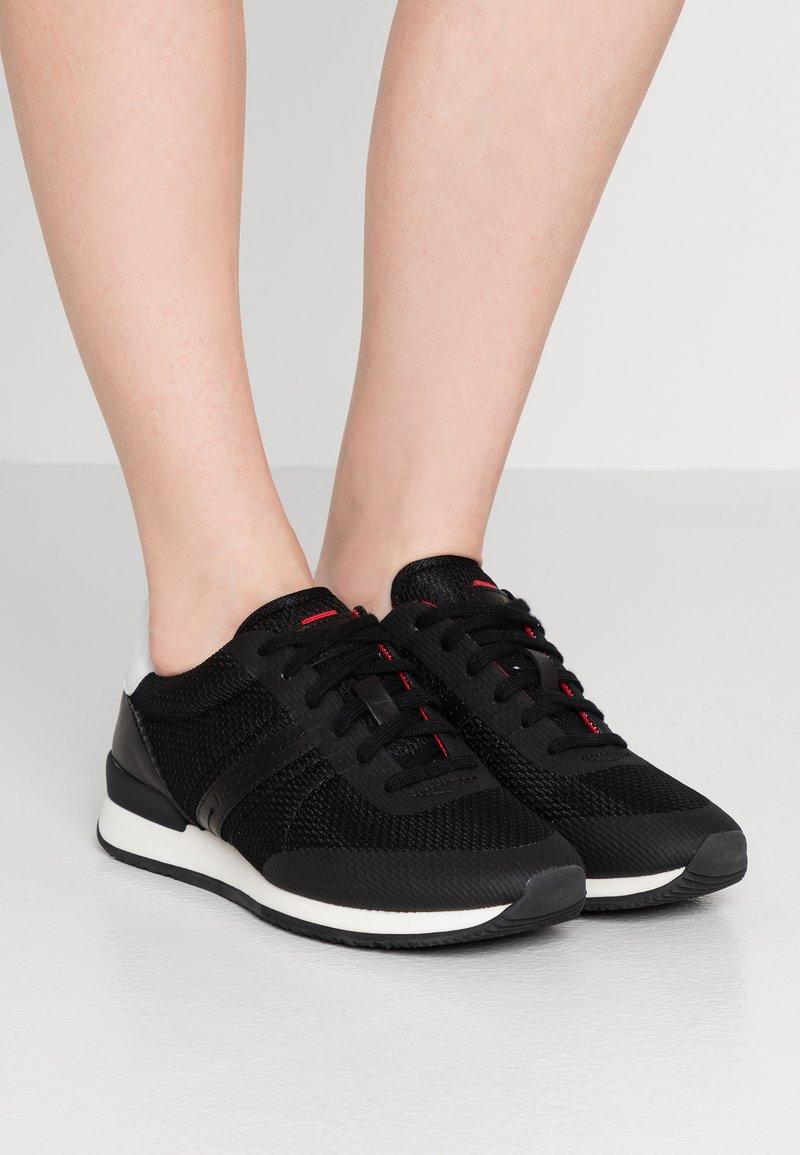 HUGO - ADRIENNE  - Sneakers basse - black