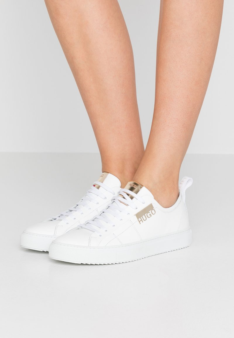 HUGO - VICTORIA CUT - Sneakers laag - white