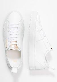 HUGO - VICTORIA CUT - Sneakers laag - white - 3