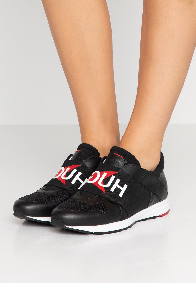 HUGO - ASYA HARROW - Sneaker low - black