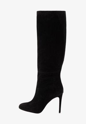 ALLISON BOOT - Kozačky na vysokém podpatku - black