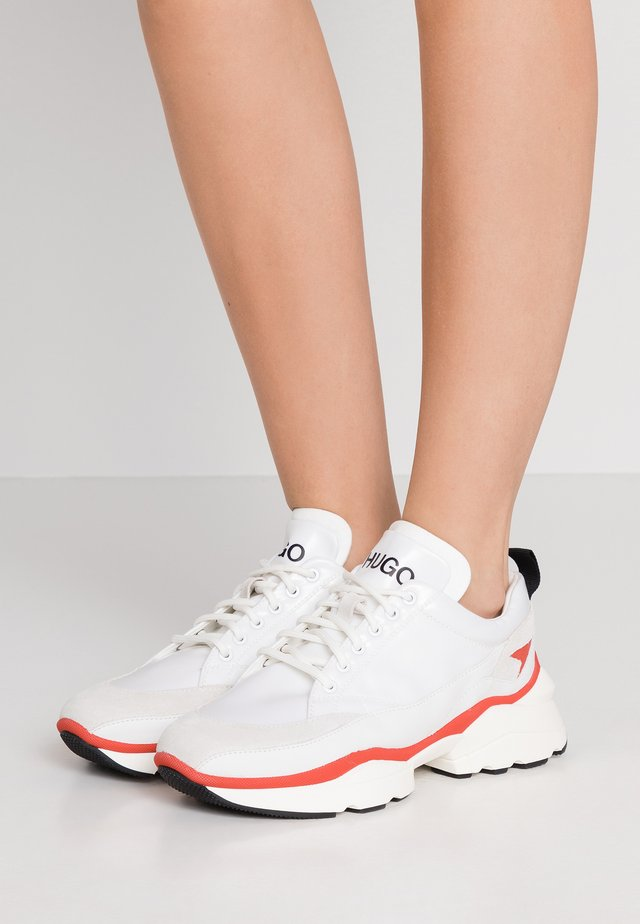 MIA LACE UP - Trainers - white
