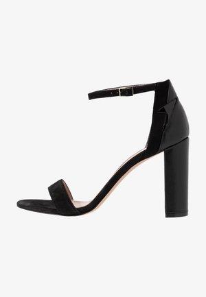 ELLE  - Sandály na vysokém podpatku - black