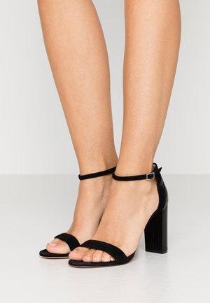 ELLE  - High heeled sandals - black