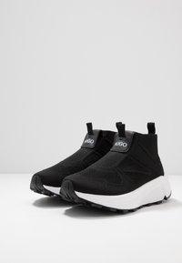 HUGO - HORIZON RUNN SOCK - Sneakers hoog - black - 4