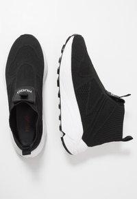 HUGO - HORIZON RUNN SOCK - Sneakers hoog - black - 3