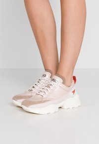 HUGO - MIA LACE UP - Trainers - open pink - 0