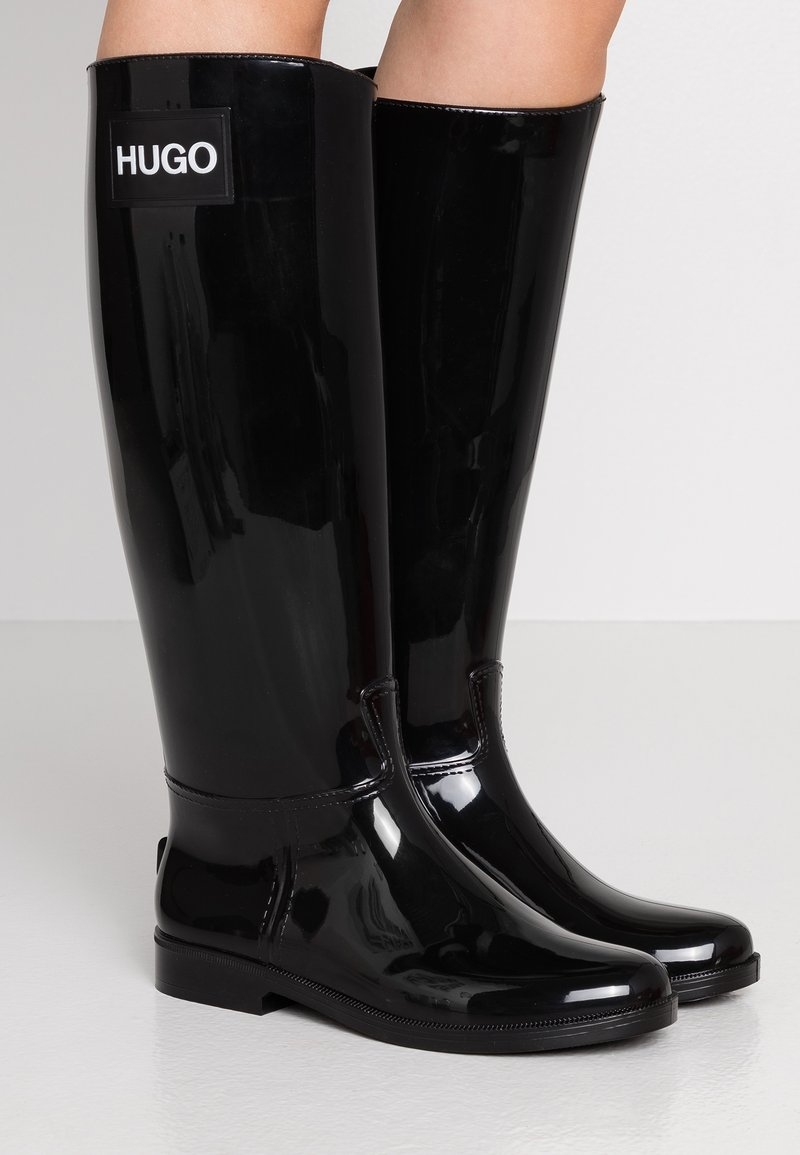 HUGO - NOLITA RAIN BOOT - Wellies - black