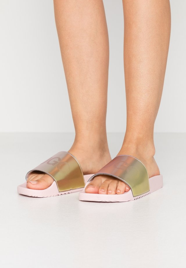 TIME OUT SLIDE - Mules - rose