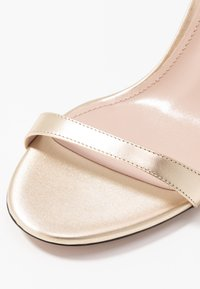 HUGO - EXCLUSIVE APRIL EFFECT - High heeled sandals - champagne - 2