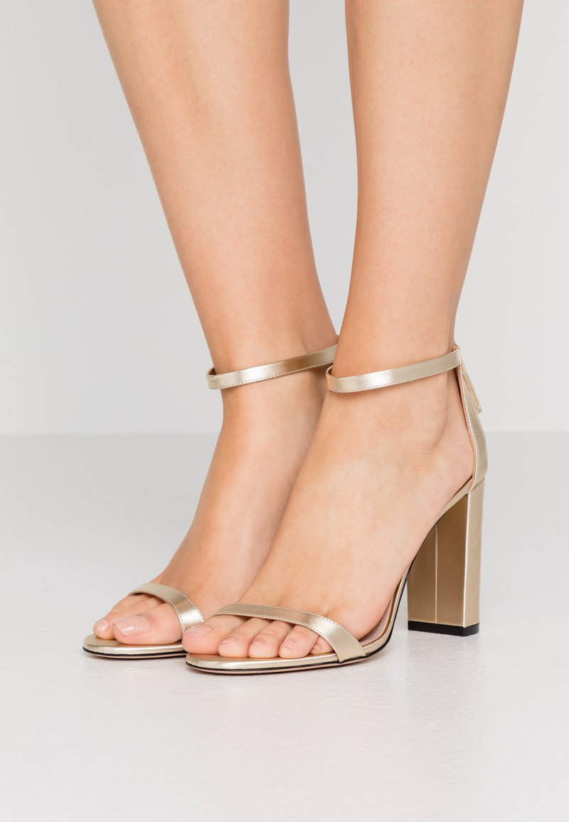 HUGO - EXCLUSIVE APRIL EFFECT - High heeled sandals - champagne