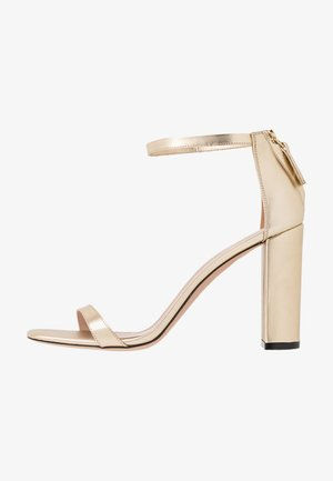 EXCLUSIVE APRIL EFFECT - Højhælede sandaletter / Højhælede sandaler - champagne