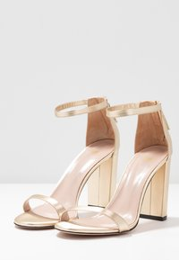 HUGO - EXCLUSIVE APRIL EFFECT - High heeled sandals - champagne - 4