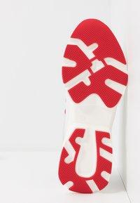 HUGO - MIA LACE UP - Tenisky - white/red - 6