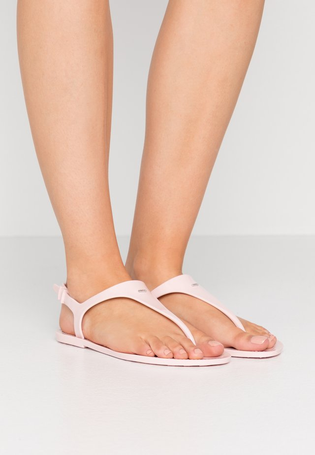EMMA FLAT - Pool shoes - rose