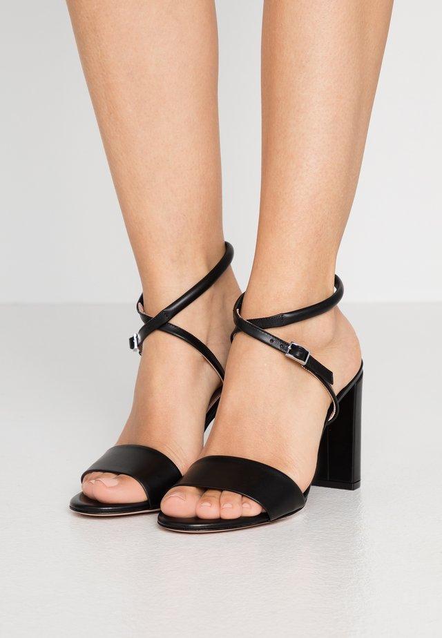 PIPER  - High Heel Sandalette - black