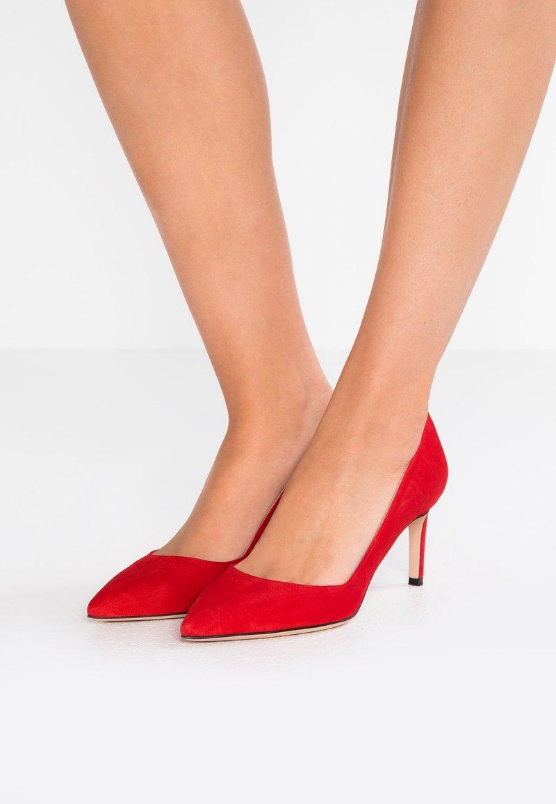 HUGO - HELLIA - Escarpins - red
