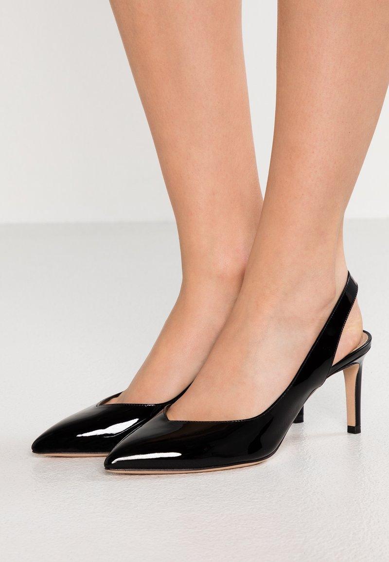 HUGO - HELLIA SLING - Classic heels - black