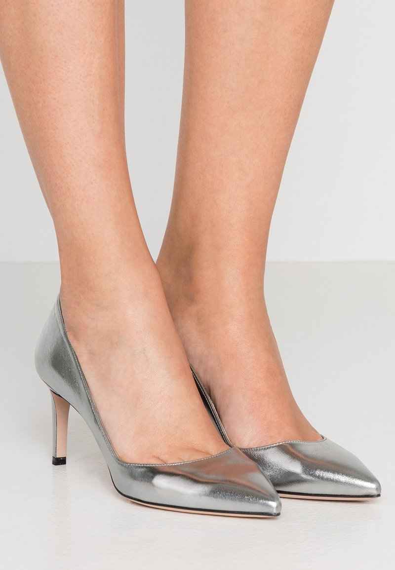 HUGO - HELLIA - Pumps - silver