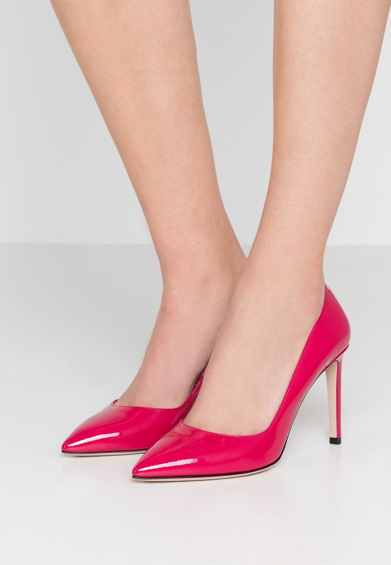 HUGO - HELLIA - High heels - cerise