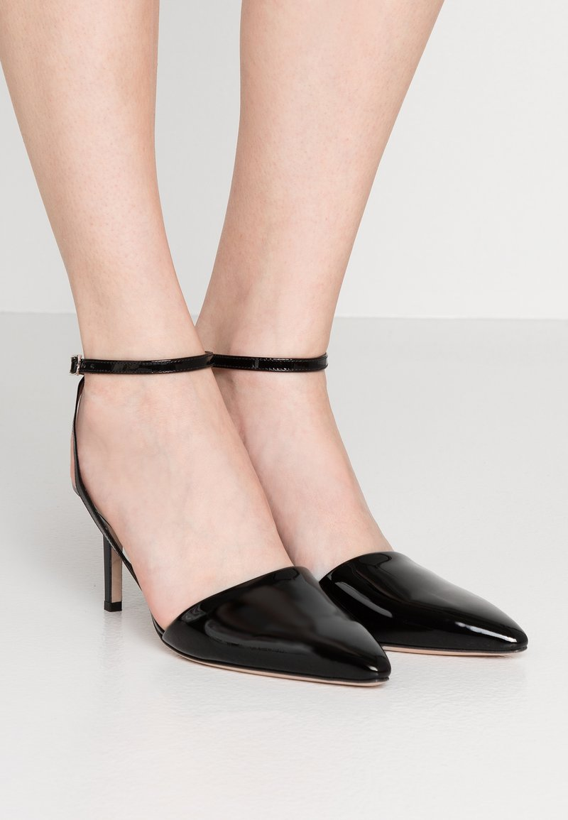 HUGO - LAUREL SLING - Escarpins - black