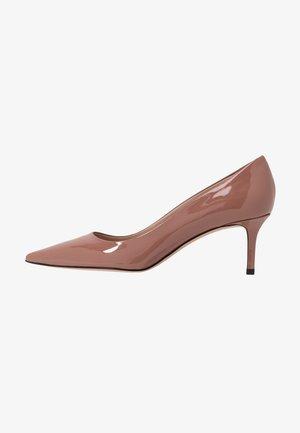 INES - Classic heels - mahogany rose