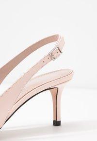 HUGO - INES SLING  - Classic heels - nude - 2
