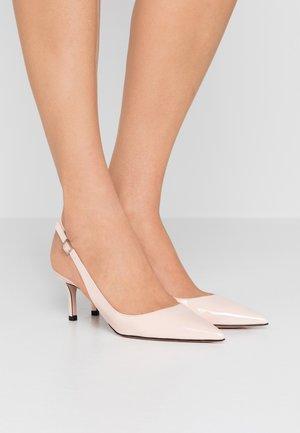 INES SLING  - Classic heels - nude