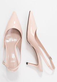 HUGO - INES SLING  - Classic heels - nude - 3