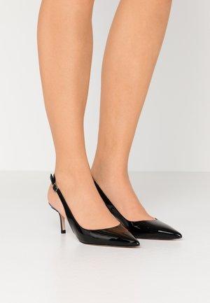 INES SLING  - Classic heels - black