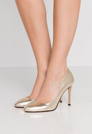 ALLISON - Zapatos altos - gold