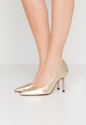 EXCLUSIVE APRIL - High heels - champagne