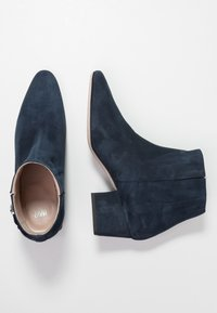HUGO - UPTOWN BOOTIE - Korte laarzen - night blue - 3