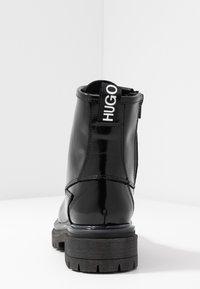 HUGO - ALPHA BOOTIE - Lace-up ankle boots - black - 5