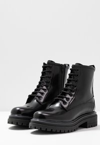 HUGO - ALPHA BOOTIE - Lace-up ankle boots - black - 4
