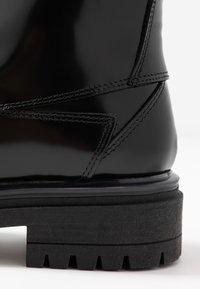 HUGO - ALPHA BOOTIE - Lace-up ankle boots - black - 2