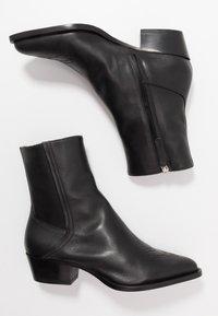 HUGO - ISABEL  - Cowboy/biker ankle boot - black - 4