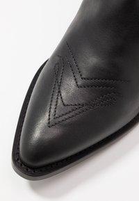 HUGO - ISABEL  - Cowboy/biker ankle boot - black - 3