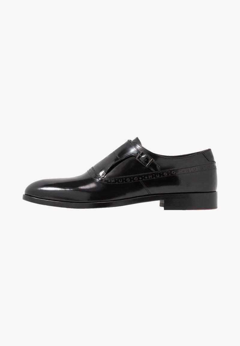 HUGO - MIDTOWN - Elegantní nazouvací boty - black